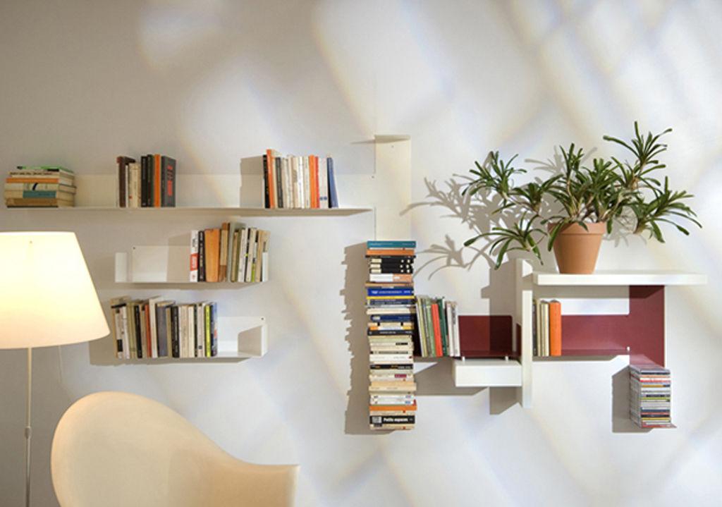 Prateleiras nichos e estantes blog soline for Muebles para guardar libros