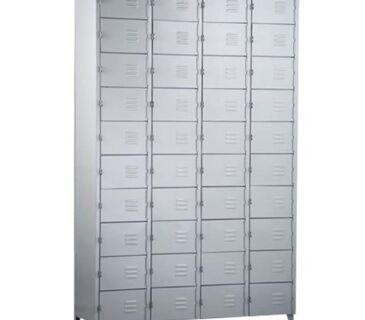 Guarda-volumes de aço 40 portas e 4 colunas