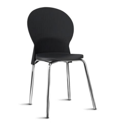 Cadeira Plástica Luna Frisokar para Recepção e Visitas 01