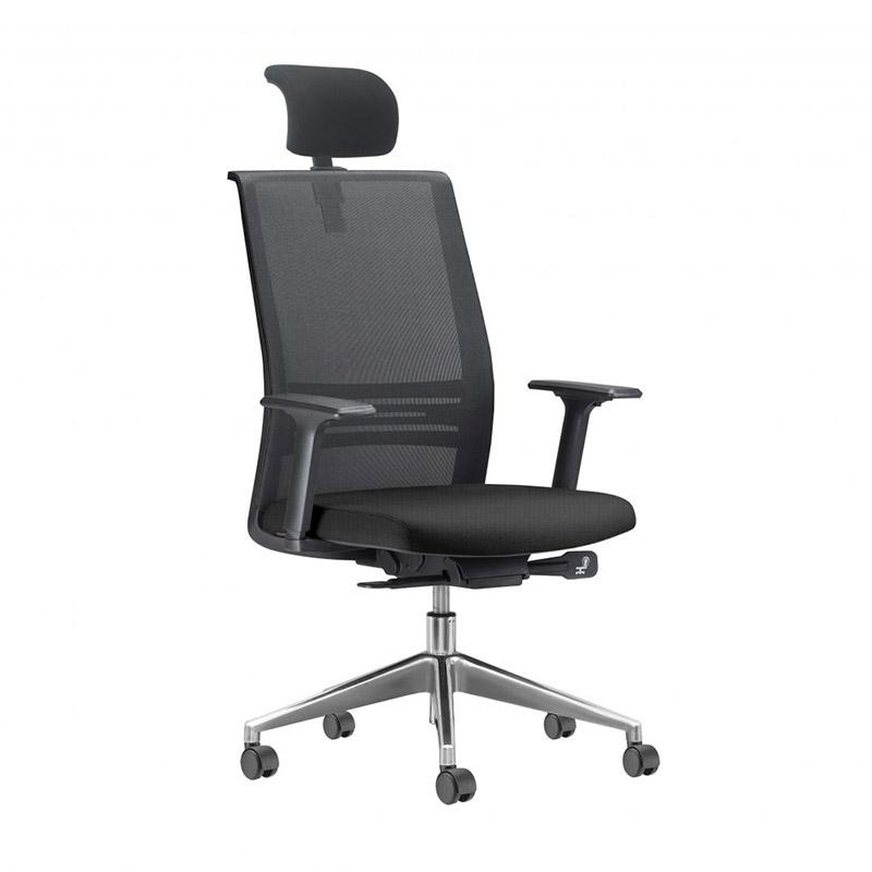 Cadeira Presidente Agile Auto Ajustável