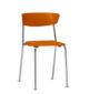 cadeira-bit-cromada-laranja