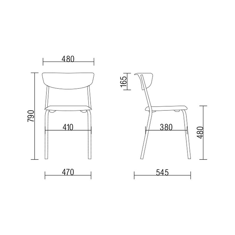 , Cadeira para Eventos e Restaurantes Bit