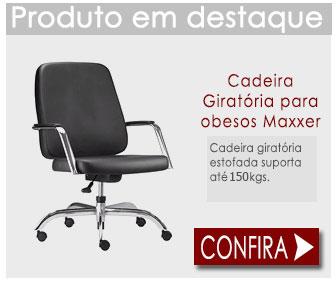 Cadeira Fixa para Obesos Maxxer