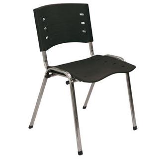 cadeira-new-iso-frisokar-preta-epoxi-cromada-