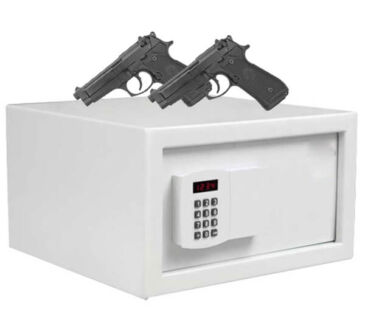 cofre para arma e munição digital