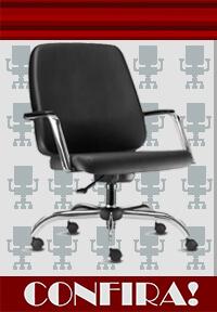 confira cadeira para obesos giratória até 150 kg