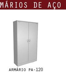 armário de aço pa 120