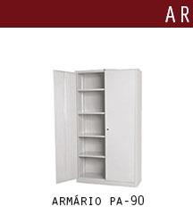 armário de aço pa 90