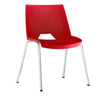 cadeira-strike-cromada-vermelha