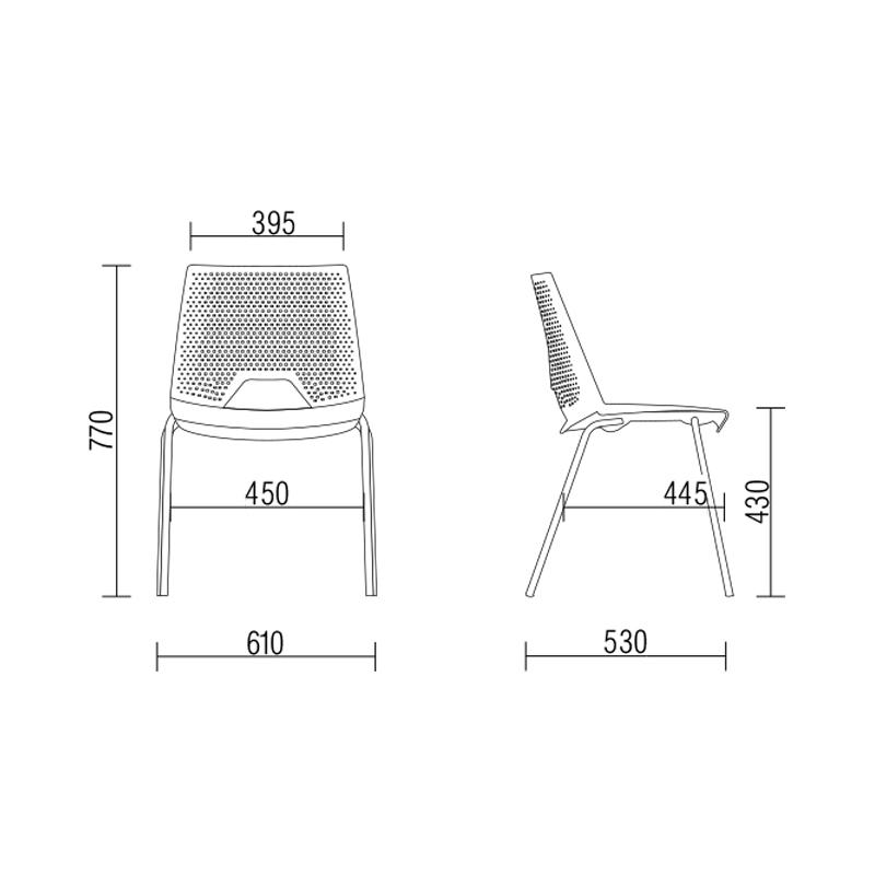 , Cadeira Plástica Strike