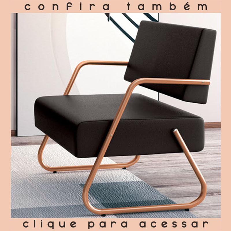, Sofá Recepção New Style dois lugares