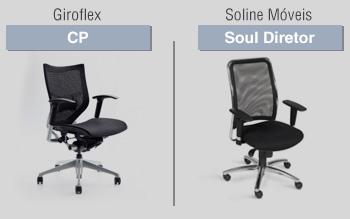 modelo das cadeiras diretor soul