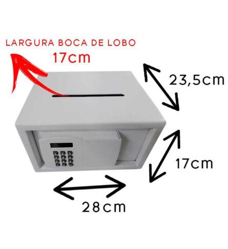 Cofre Digital Boca de Lobo SS555BL 06