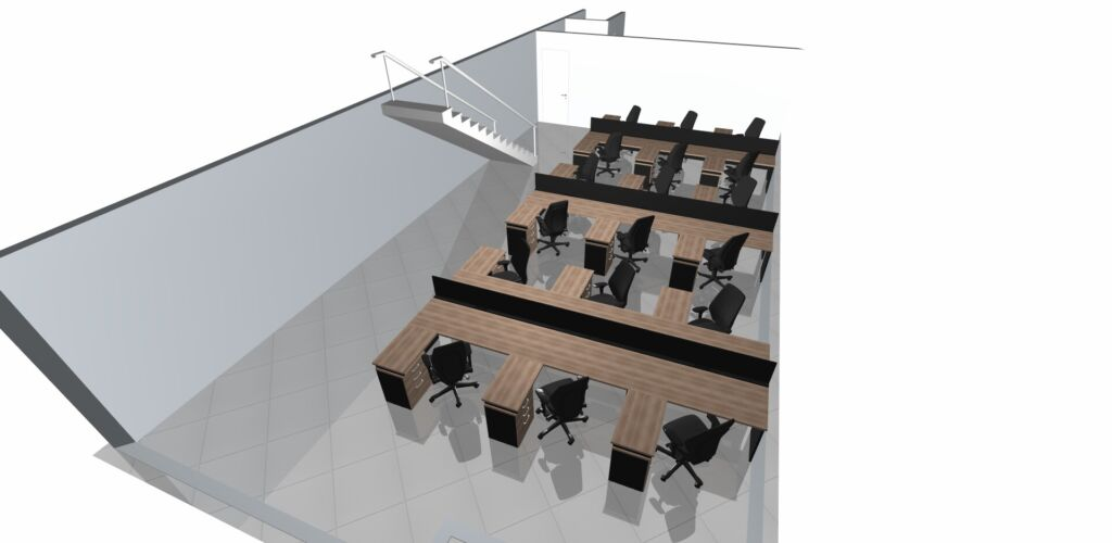 , Projetos para Layout de Escritório
