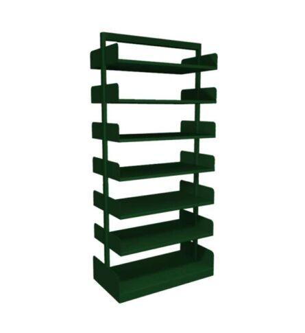 estante-aco-biblioteca-dupla-12-prateleiras-verde