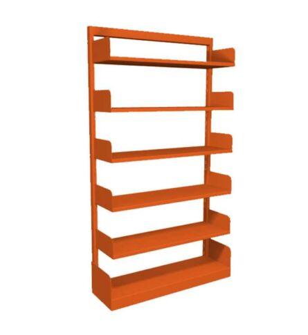 estante-aco-biblioteca-simples-5-prateleiras-laranja