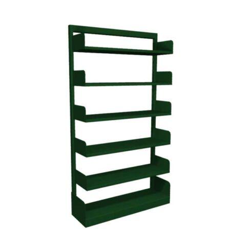 estante-aco-biblioteca-simples-5-prateleiras-verde