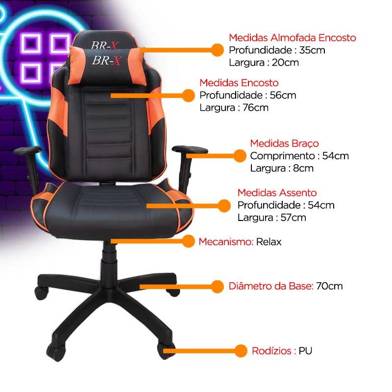 Cadeira gamer brx, Cadeira Gamer BRX